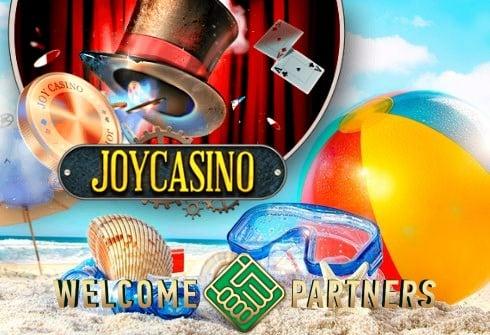 Летние бонусы в JoyCasino от партнерки WelcomePartners